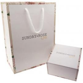 SUNDAY ROSE Fashion SILVER LOVE