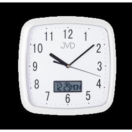 Hodiny JVD bílé DH615.4