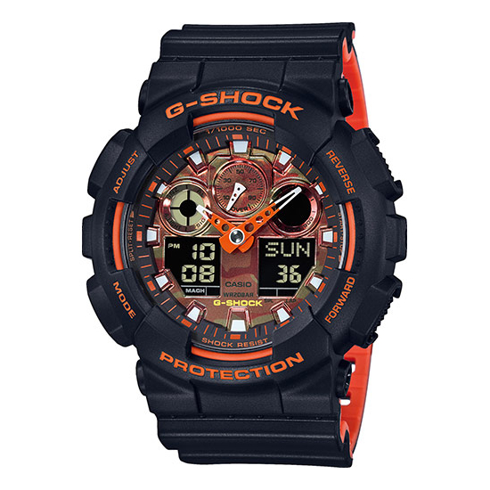 GA 100B-4A CASIO G-SHOCK